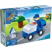 Blocos De Montar Policia 9605 Banbao