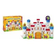 Blocos Em Madeira Castelo Encantado Brincadeira De Criança