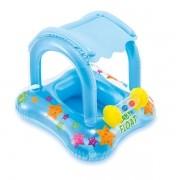 Boia Baby Bote Kiddie Com Cobertura 56581 Intex