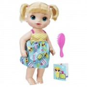 Boneca Baby Alive Escolinha Loira B7223 Hasbro