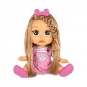 Boneca Baby Wow Mia Cresce Cabelo BR543 Multilaser