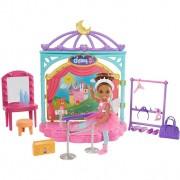 Boneca Barbie Chelsea Aula De Balé Com Cenário GHV81 Mattel