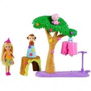Boneca Barbie Chelsea Festa Na Selva GTM84 Mattel
