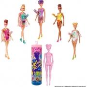Boneca Barbie Color Reveal Serie 7 Areia E Sol GWC57 Mattel