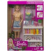 Boneca Barbie Conjunto De Sucos Tropicais GRN75 Mattel