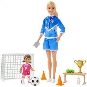 Boneca Barbie Conjunto Sports Profissões GML53 Mattel