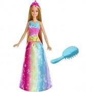Boneca Barbie Dreamtopia Cabelos Mágicos FRB12 Mattel