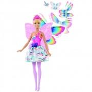 Boneca Barbie Dreamtopia Fada Asas Voadoras FRB08 Mattel
