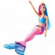 Boneca Barbie Dreamtopia Sereia GJK07 Mattel