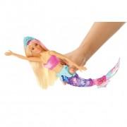 Boneca Barbie Dreamtopia Sereia Luzes Arco-Íris GFL82 Mattel