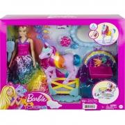 Boneca Barbie Dreamtopia Unicornio Arco Iris GTG01 Mattel