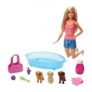 Boneca Barbie E Pets GDJ37 Mattel