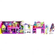 Boneca Barbie Extra Penteadeira Luzes E Sons GYJ70 Mattel