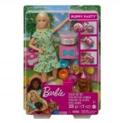 Boneca Barbie Family Aniversário Do Cachorrinho GXV75 Mattel
