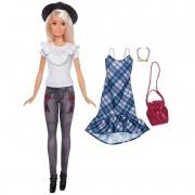 Boneca Barbie Fashionistas E Roupinhas FJF67 Mattel