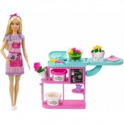 Boneca Barbie Florista Loja De Flores GTN58 Mattel