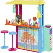 Boneca Barbie Malibu Eco Quiosque De Praia GYG23 Mattel