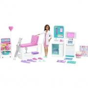 Boneca Barbie Profissões Clinica Rapida GTN61 Mattel