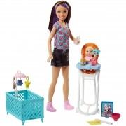 Boneca Barbie Skipper Babysitters Unitária FHY97 Mattel