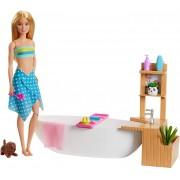 Boneca Barbie Spa Banho De Espumas GJN32 Mattel