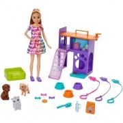 Boneca Barbie Stacie E Filhotes GFF48 Mattel