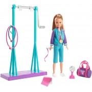 Boneca Barbie Team Stacie Ginasta GBK59 Mattel