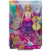 Boneca Barbie Transformação Princesa Sereia GTF92 Mattel