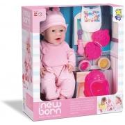 Boneca Diver New Born Come E Faz Caquinha 8080 Diver Toys