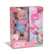 Boneca Diver New Born Primeiros Cuidados 8114 Diver Toys