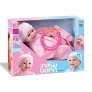 Boneca Diver New Born Soninho Menina 8065 Diver Toys