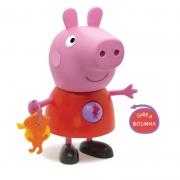 Boneca E Personagem Peppa Pig Atividades 24cm 1097 Elka