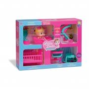 Boneca Little Dolls Casinha 8023 Diver Toys