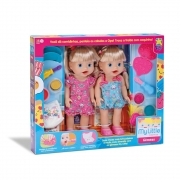 Boneca My Little Collection Gêmeas 8104 Diver Toys