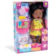 Boneca My Little Collection Primeira Papinha 8107 Diver Toys