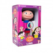 Boneca O Show Da Luna Luna Com Som 40 Centímetros Estrela