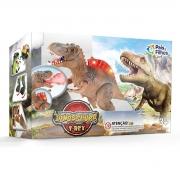 Boneco Dinossauro Tiranossauro Rex 19030 Pais E Filhos