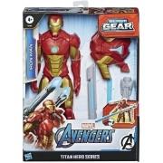 Boneco Homem De Ferro Lançador Blast Gear Marvel E7380 Hasbro