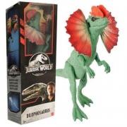 Boneco Jurassic World Dilofossauro Fvl38 Mattel
