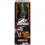 Boneco Jurassic World Scorpios Rex Hby24 Mattel