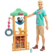 Boneco Ken I Can Be Playset Ken Barbie Gjm32 Mattel