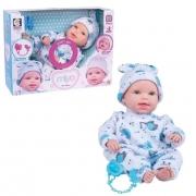 Boneco Miyo Menino Com Sons De Bebê 2392 Cotiplás