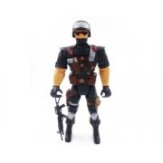 Boneco Soldado Super Cop Policia PI002/18 Pica Pau