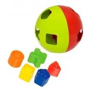 Brinquedo Educativo Bola Didatica Com Blocos 282 Merco Toys