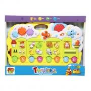 Brinquedo Educativo Trenzinho Com Luz E Som DMT4744 Dm Toys