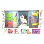 Cachorro My Pet Come E Faz Caquinha Buldogue 8128 Diver Toys