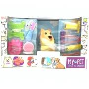 Cachorro My Pet Come E Faz Caquinha Spitz 8112 Diver Toys
