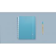 Caderno All Blue Grande CIGD4093 Caderno Inteligente