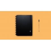 Caderno Basic Black Médio CIMD3090 Caderno Inteligente