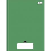 Caderno Brochura Capa Dura D+ Verde 48 Folhas Tilibra
