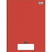Caderno Brochura Capa Dura D+ Vermelho 48 Folhas Tilibra